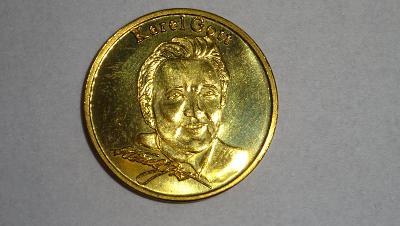 Pamětní mince Karel Gott z Gottlandu (rarita)