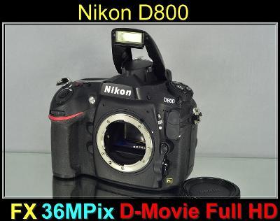 💥 Nikon D800 **36MPix Full-Frame, 6sn./s, Full HDV **👍TOP 43200 Exp.