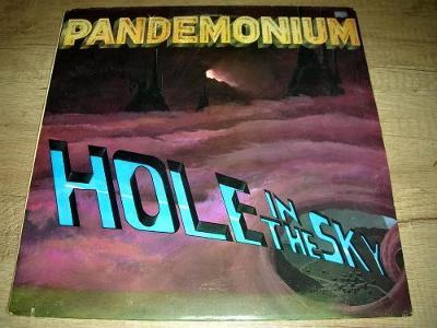 Pandemonium – Hole In The Sky (1985) USA 1.Press , NM