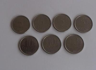 brazilské mince