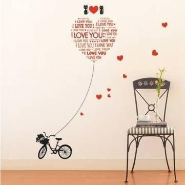 I Love You - Samolepka na zeď