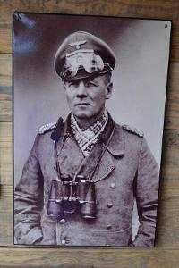 plechová cedule -Erwin Rommel