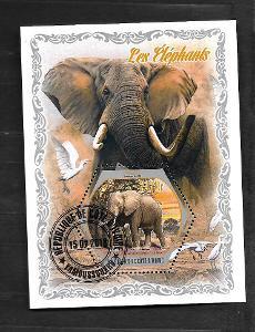 Pobřeží slonoviny 2018 - Slon africký
