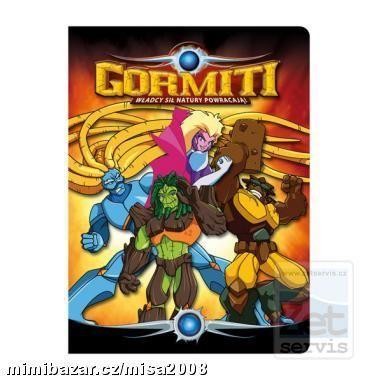 Desky s gumou GORMITI A4
