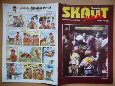 Časopis - Skaut - Junák - ročník 36. - číslo 6. ze září roku 1993