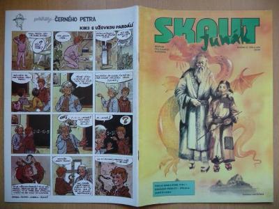 Časopis - Skaut - Junák - ročník 37. - číslo 2. z února roku 1994