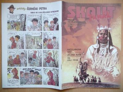 Časopis - Skaut - Junák - ročník 37. - číslo 3. z března roku 1994