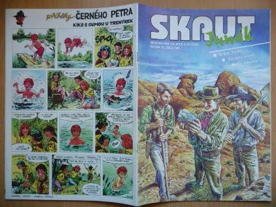 Časopis - Skaut - Junák - ročník 37. - číslo 7. ze září roku 1994