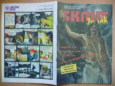 Časopis - Skaut - Junák - ročník 37. - číslo 9. z listopadu roku 1994