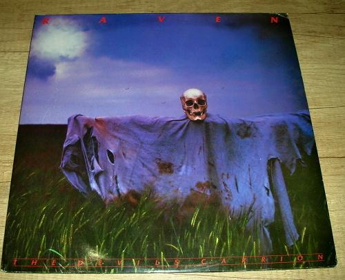 Raven  – The Devil's Carrion (1985) 2xLP ,UK ,TOP STAV!!! - Hudba