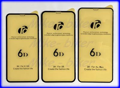 5D Tvrzené temper. sklo iPhone X, Xs, Xr, 11, 11Pro včetně verzí MAX.