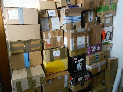 Kartonové krabice, lepenkové, rozlepené jen zvrchu - 100 ks