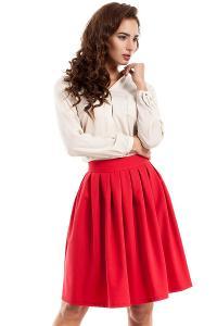Červená sukňa Moe 237
