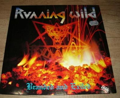 Running Wild – Branded And Exiled  (1985) 1.Press , TOP STAV!!!
