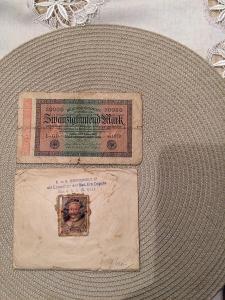 20000 Mark bankovku