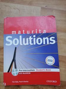 Maturita solutions - pre-intermediate student's book + CD