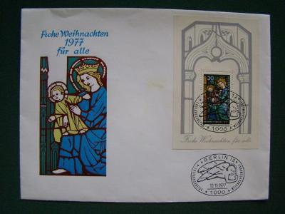 Dopis - Deutsche Bundespost Berlin Deutschland - Německo