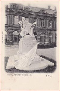 Paris * Louvre, Monument de Meissonier, Stengel * Francie * Z041