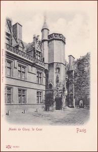 Paris * Musée de Cluny, aechitekrura, Stengel * Francie * Z752