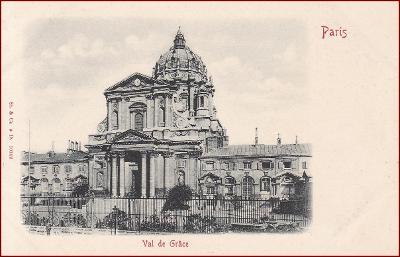 Paris * Val de Grace, architektura, Stengel * Francie * Z855