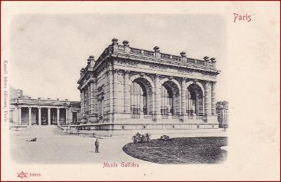 Paris * Musée Galliéra, architektura, Stengel * Francie * Z860