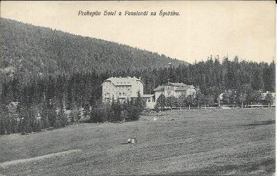 Šumava - Prokopův hotel a pensionát na Špičáku