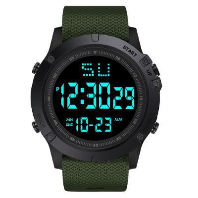 Módní Pánské LED digitální hodinky (vodotěsné) skvělá cena.