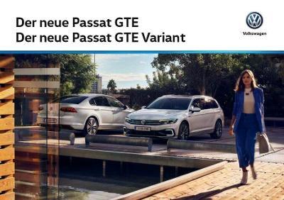 Volkswagen Vw Passat GTE model 2020 prospekt 09 / 2019 AT