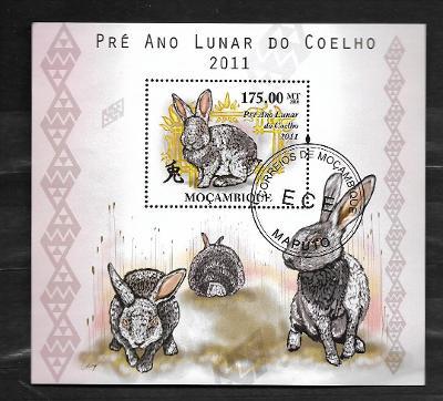 Mosambik 2010 - Rok králíka