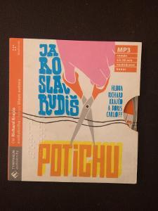 CD: Jaroslav Rudiš - Potichu (audiokniha)