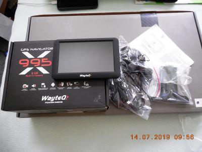 """WAYTEQ 995 - navigační 5 """" tablet - nový"""