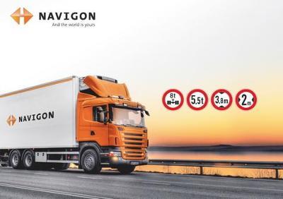 NAVIGON 70 PL TRUCK - mapy Evropa Q2/2020 !!!