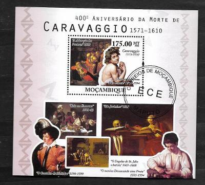 Mosambik 2010 - malíř Caravaggio