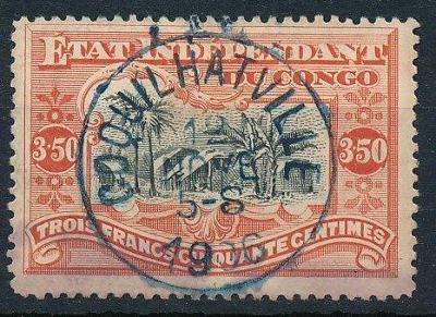 Belgické Kongo 1898 ʘ/Mi. 24 A , Svobodný stát Kongo , /L15/