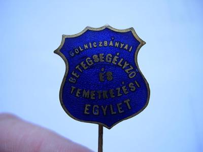Odznak - Gelnica - Rakúsko - uhorsko - vzácny