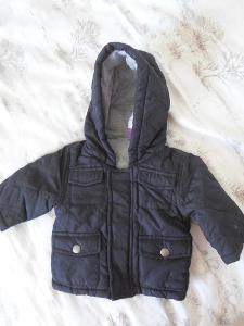 F&F  - krásná bunda na zip   vel. 0-3 měsíce/62
