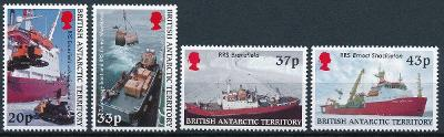 Britská Antarktida 2000 **/Mi. 307-10 , lodě ,  komplet  ,  /L22/