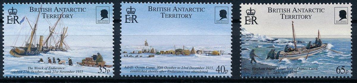 Britská Antarktida 2000 **/Mi.298-300 , lodě , komplet , /L22/
