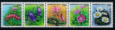Korea Jižní , **/1987 Mi. 1504-8A , soutisk , komplet , /B4/