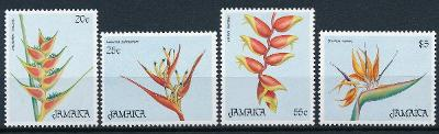 Jamajka 1986 **/Mi. 645-8 , komplet ,  /A2/