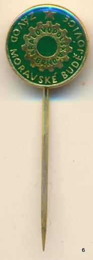Odznak - Moravské Budějovice - Třebíč , KRÁLOVOPOLSKA , /ms/