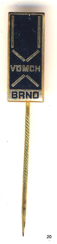 Odznak - Brno , VÚMCH , /ms/