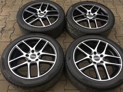 Alu kola 5x120 OXXO BMW 3 225/45 R17 Pirelli Cinturato