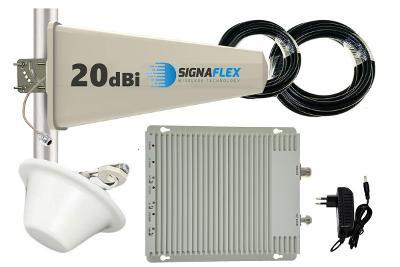 SIGNÁLNÍ ZOSILOVAČ PRO SÍTĚ SÍTĚ GSM 3G 4G LTE