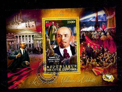 Pobřeží slonoviny 2012 - Lenin, VŘSR, Stalin, křižník Aurora