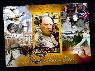 Pobřeží slonoviny 2013 - Churchill, Montgomery, Stalin
