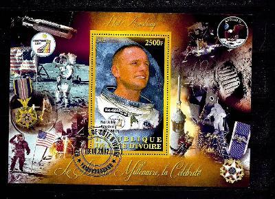 Pobřeží slonoviny 2012 - Neil Armstrong, Apollo 11