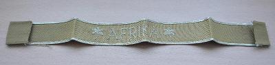 Rukávová páska Wehrmacht - Afrika