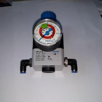 Přesný regulátor tlaku FESTO typ LRP-1/4-10 s manometrem