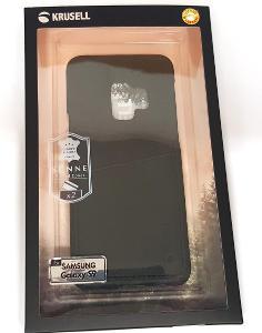 Krusell zadní kryt SUNNE 2 CARD pro Samsung Galaxy S9, černá